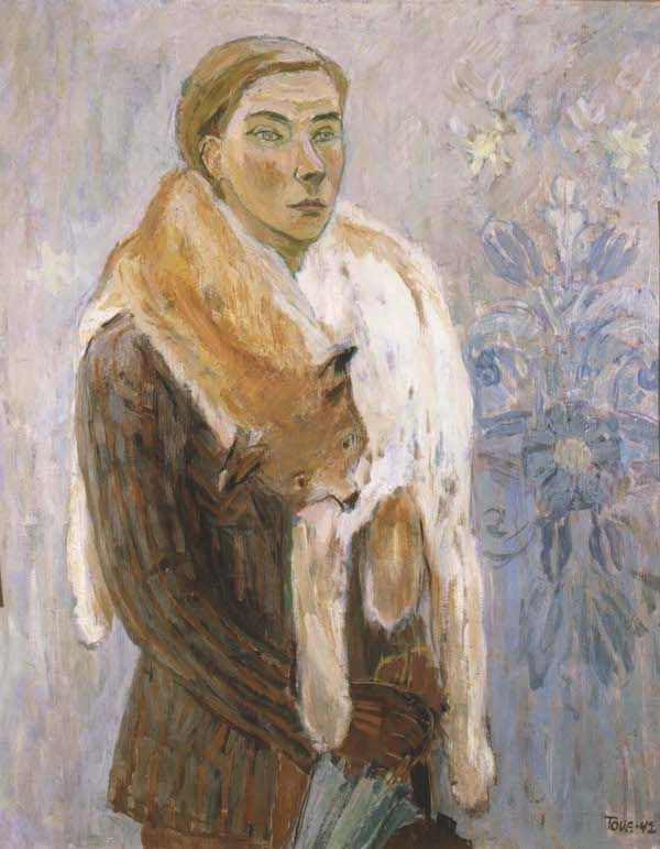 Loboan a self-portrait from 1942