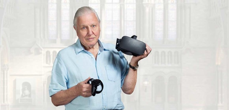 Sir David Attenborough to host Hold the World VR experience for Natural History Museum