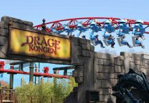 Intamin's record-breaking (Dragekongen) Dragon King coaster turns up the heat at Djurs Sommerland