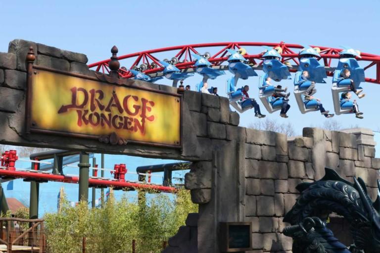 Intamin's record-breaking (Dragekongen) Dragon King coaster turns up the heat at Djurs Sommerland
