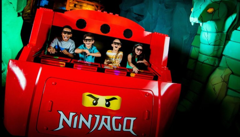 the UK's first 4D, hand gesture enabled ride
