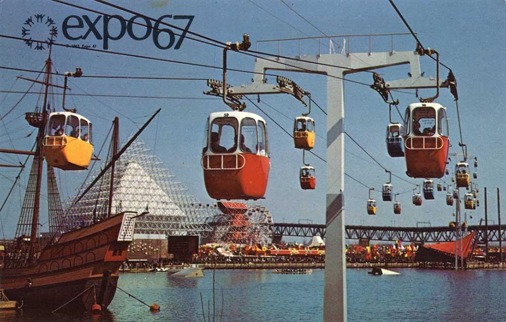 Postcard of La Ronde Expo 67