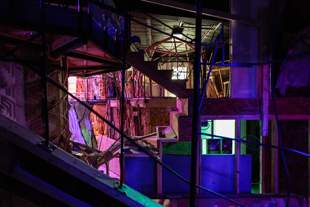 Stairs Meow Wolf