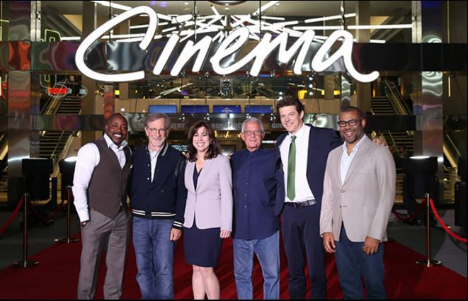 Spielberg gives thumbs up to reimagined Christie-powered Universal Cinema