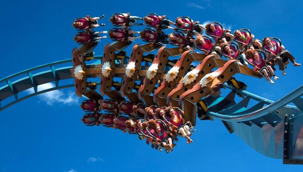 Toverland wing coaster