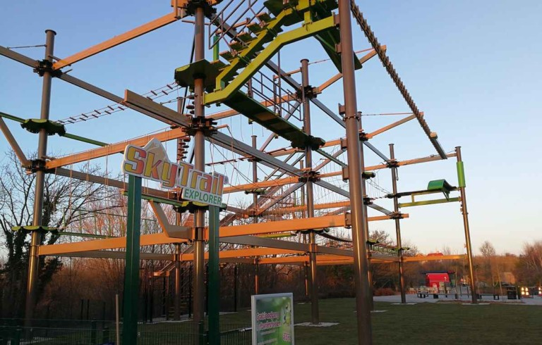 Innovative Leisure creates stellar ropes course adventure attraction at Universe park