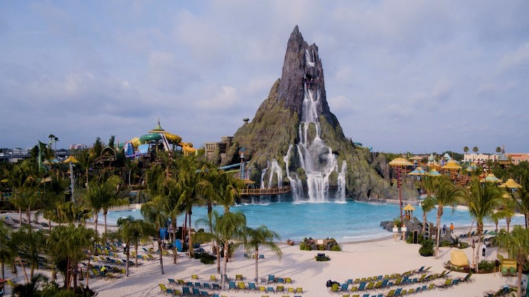 Join ProSlide at IAAPA Water Park Social networking event at Universal's Volcano Bay