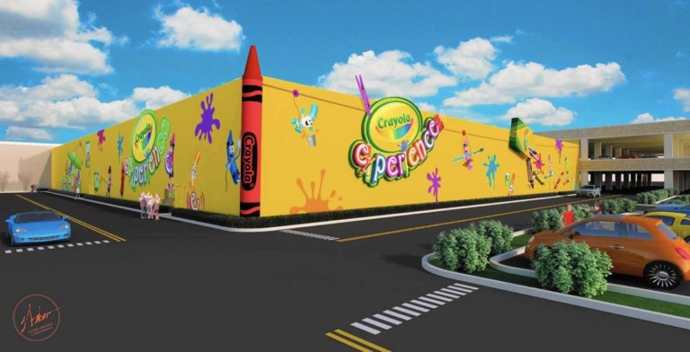 Crayola amusement centre to open at Willow Bend shopping mall, Texas