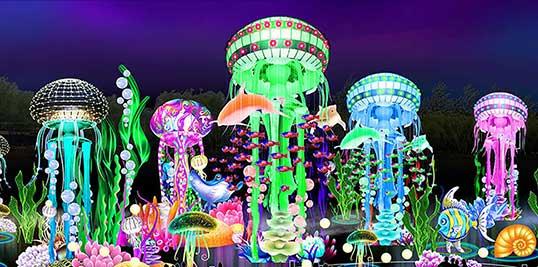 Dubai Garden Glow park