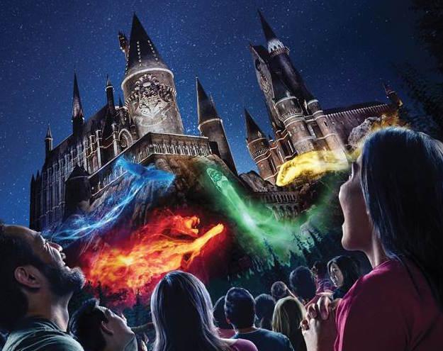 Nighttime Lights at Hogwarts Castle rumoured to go to Universal Orlando