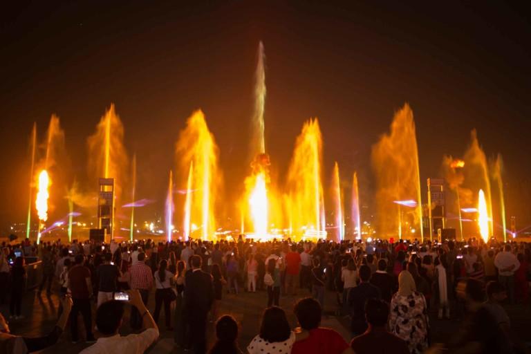 UAE Dubai 2020 laservision