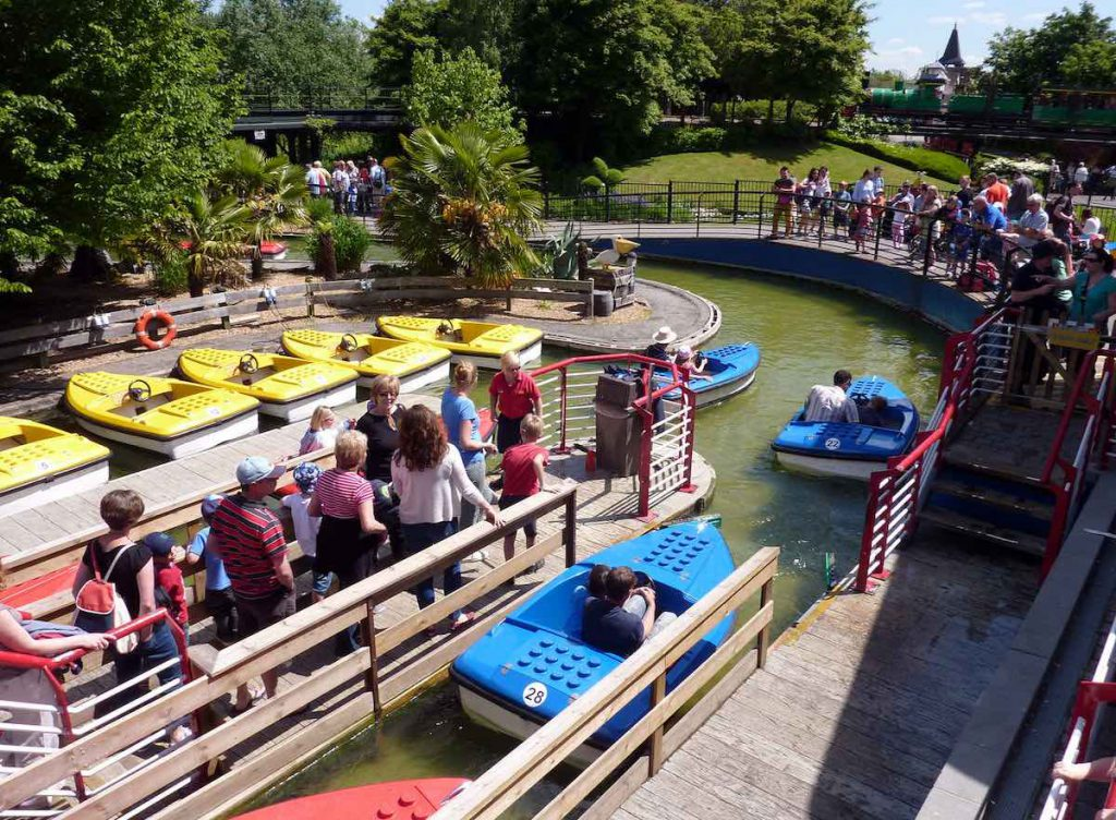 Legoland windsor boats are a popular ride for all ages