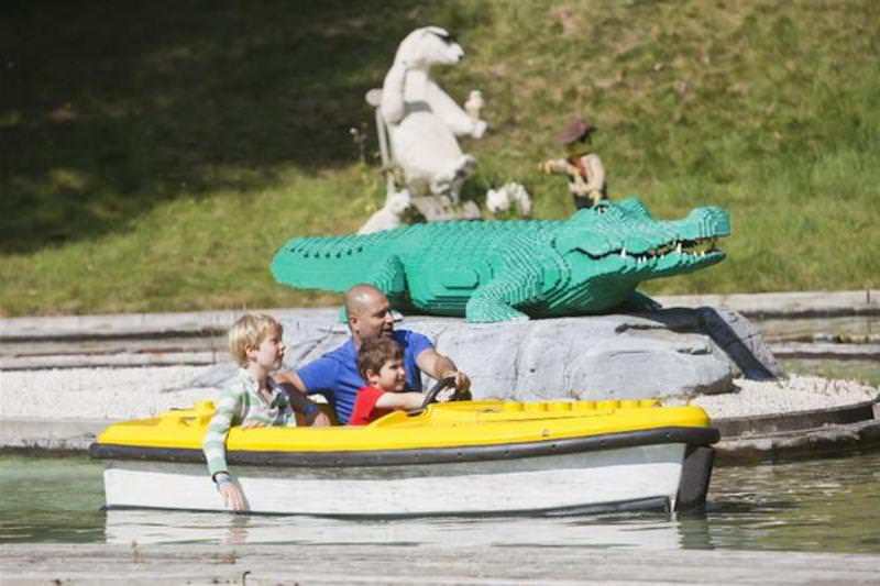 Legoland windsor boats relaxed family fun by Garmendale