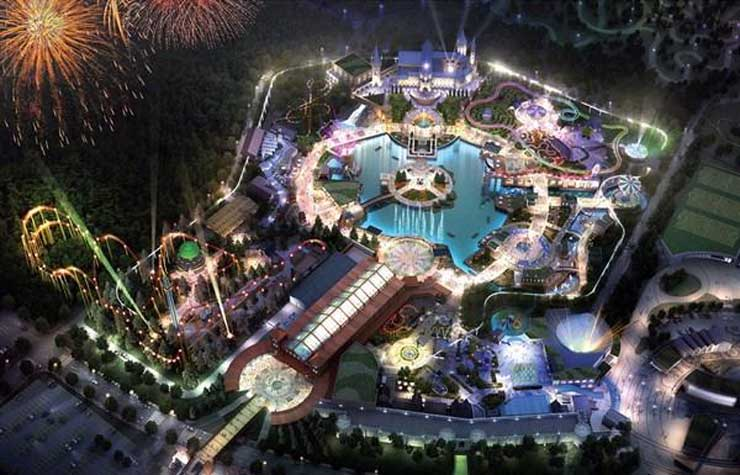 osraraaa theme park in busan south korea will be 2.5 times larger than everland