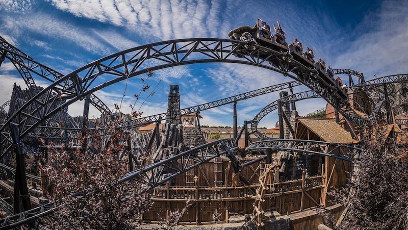 Phantasialand taron best themed roller coasters