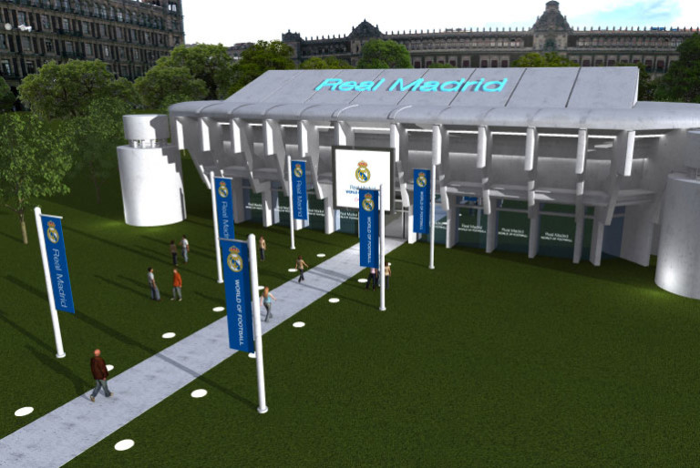 Real Madrid World of Football, Come Play!