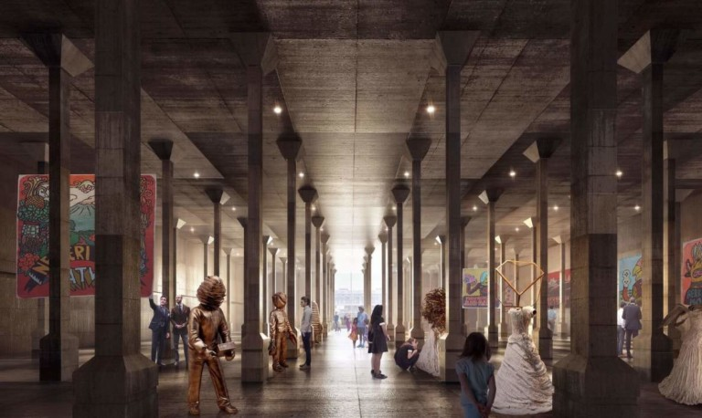 Sydney modern project - World War II oil tanks to become art spaces as part of ambitious Art Gallery of New South Wales expansion
