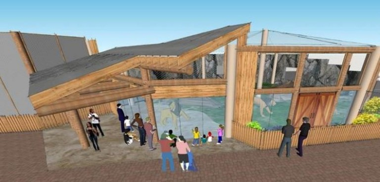 Bids open July 5th for construction of Erie Zoo's new lion exhibit