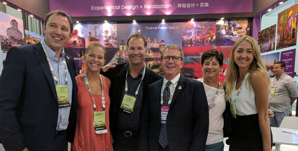 jra booth with iaapa president paul noland (1)