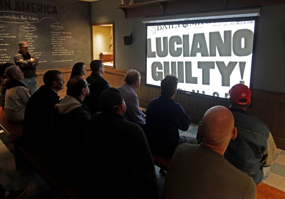 luciano guilty at mob museum