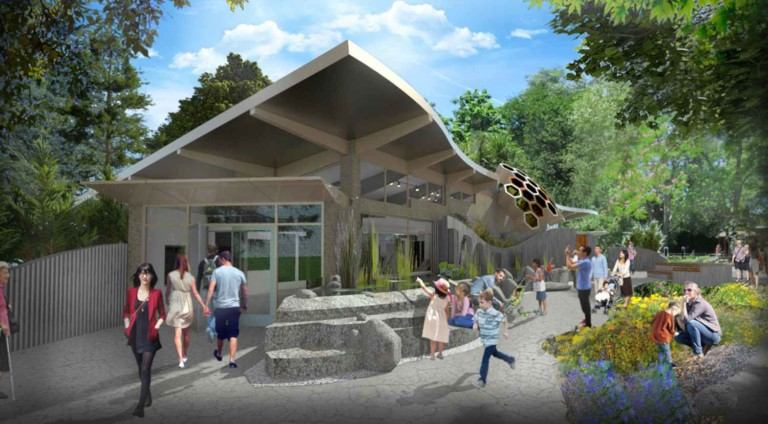 Biodiversity Centre first phase in total transformation of Sacramento Zoo