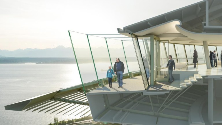 Seattle's Space Needle uses cutting-edge glass technology for seamless viewing experience in $100 revamp
