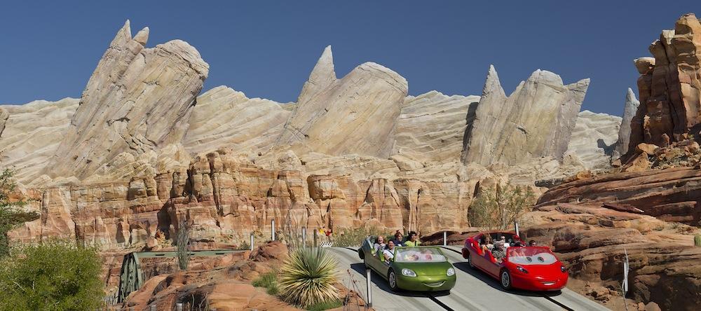 Radiator Springs Disneyland Resort