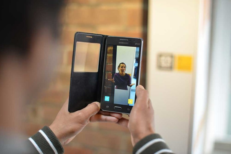 Signly app gives deaf museum visitors access to information in British Sign Language