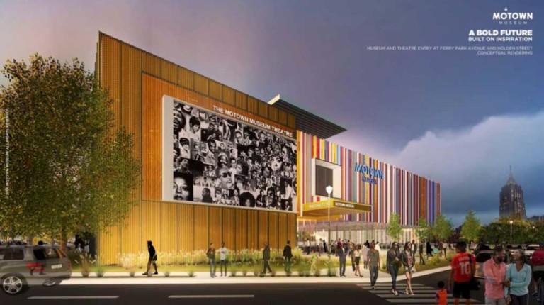 Motown Museum concept