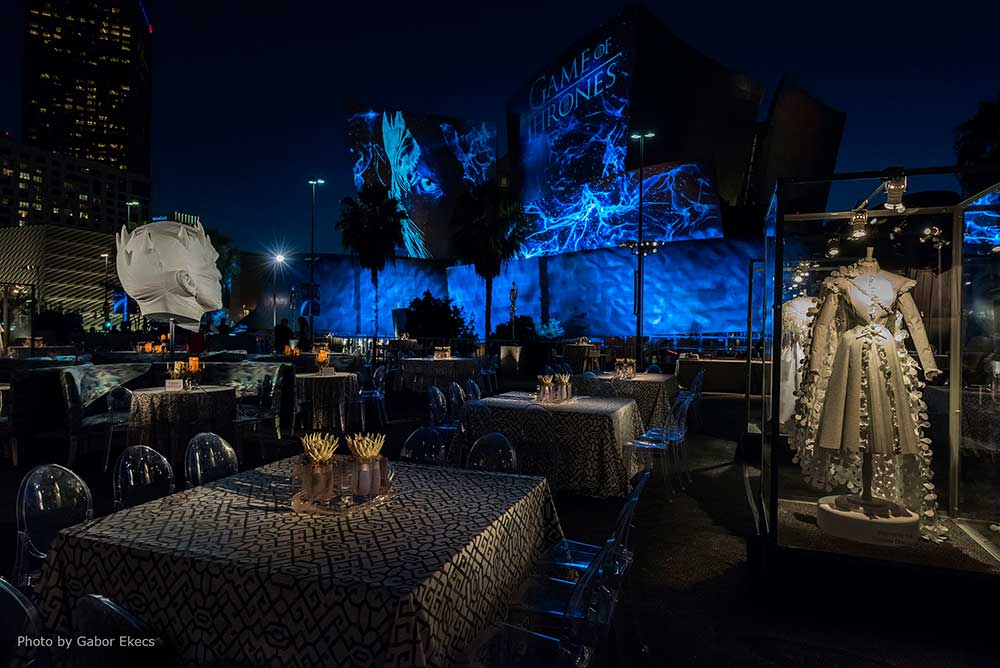 HBO Game Of Thrones Party, Los Angeles, CA
