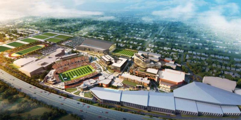 Pro Football Hall of Fame rendering