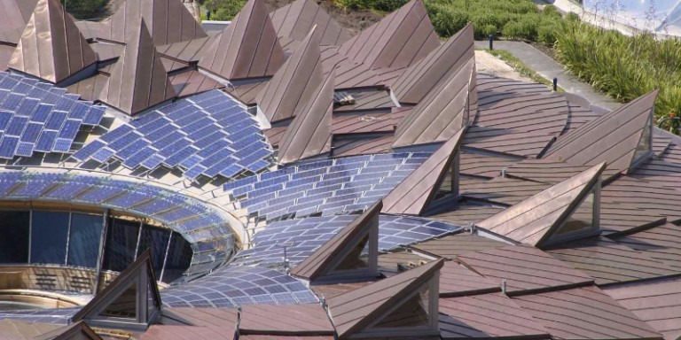 Solar Panels at The Eden Project