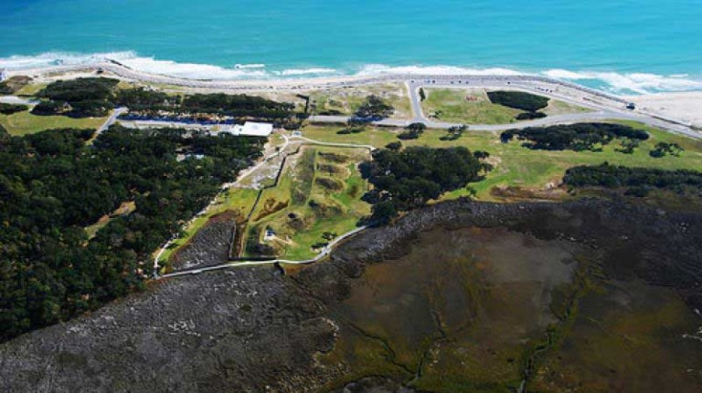 Fort Fisher Aerial