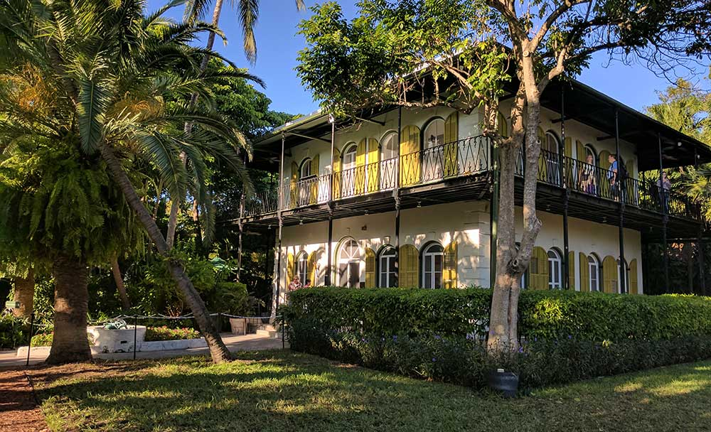 Ernest Hemingway Home and Museum and six-toed cats survive hurricane Irma