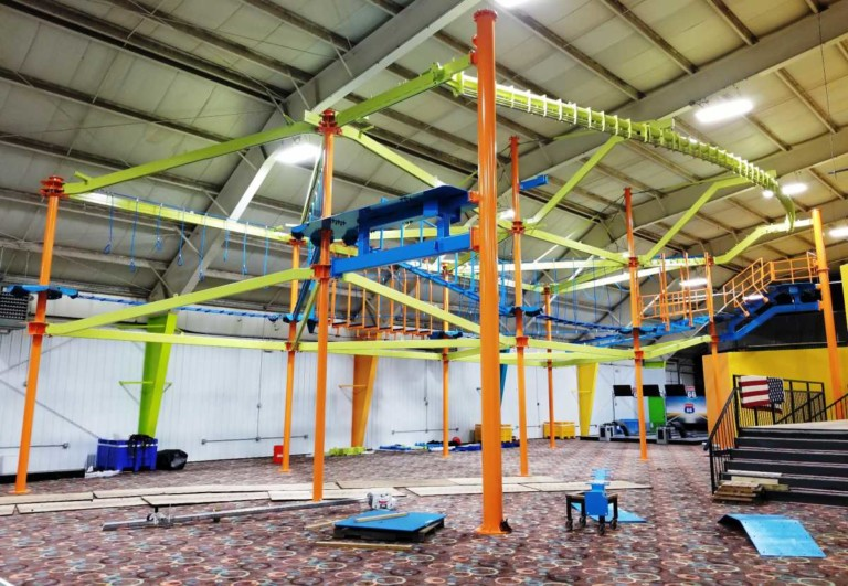 Ropes Courses Sky Trail the centrepiece of HooplasXtreme transformation