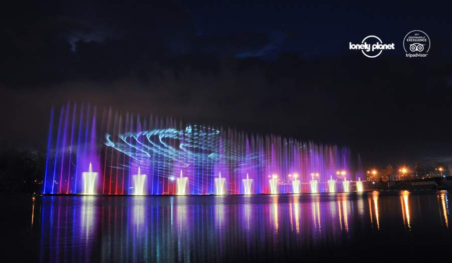 Lonely Planet ranks Emotion Media Factory's Multimedia Fountain Roshen a must-see attraction