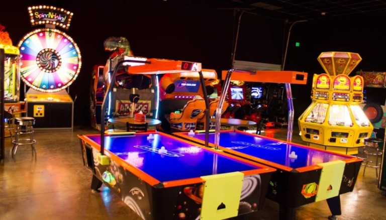 schulman arcade in Texas, which is coming to denison