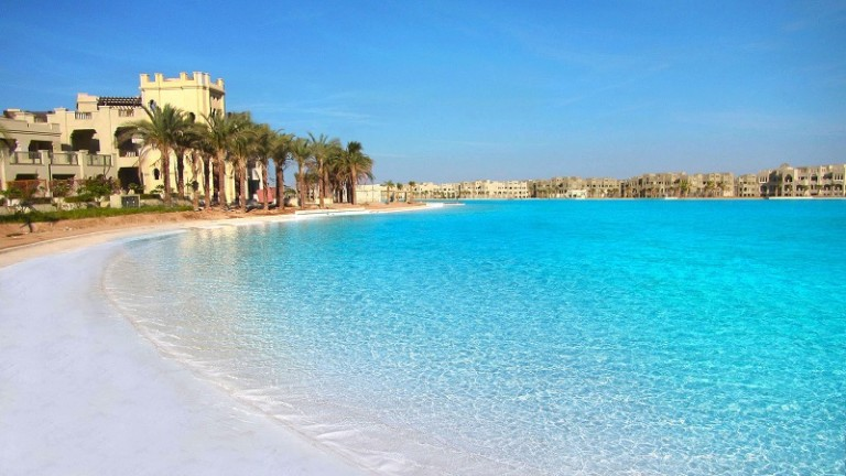 Crystal Lagoons project in Egypt