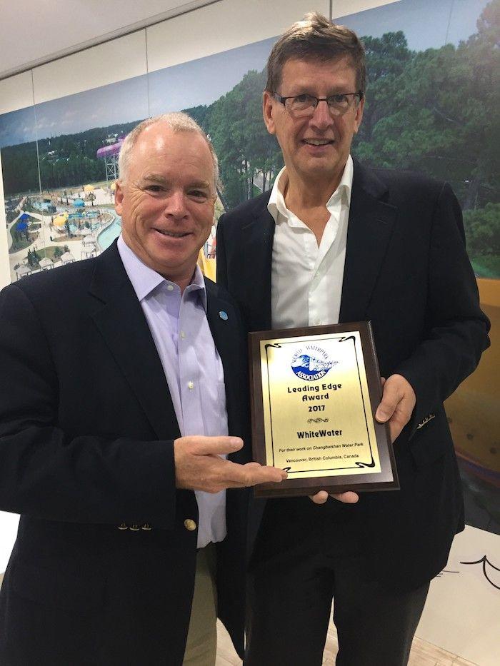 Andrew Mowatt Geoff Chutter Leading Edge Award.
