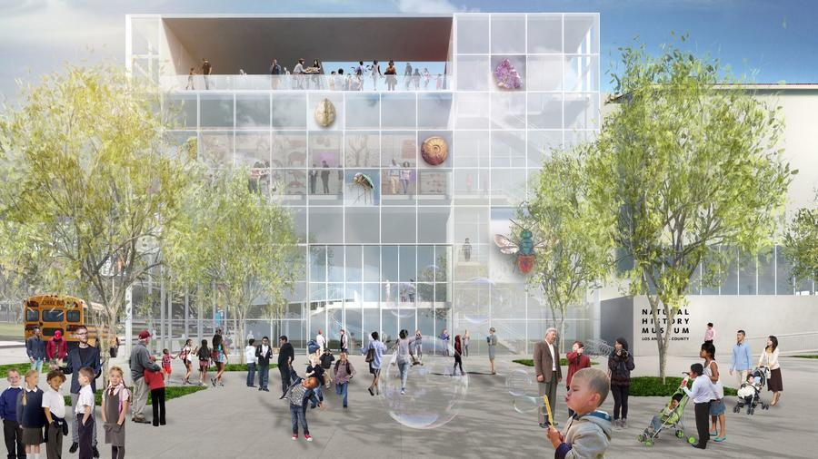 Frederick-Fisher-and-Partners-Architects-nhmla-plans exposition park