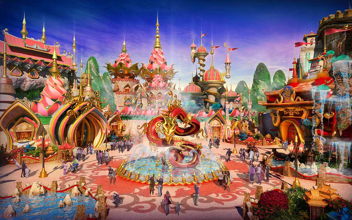 IDEATTACK Evergrance Fairytale theme park kids Brilliant China