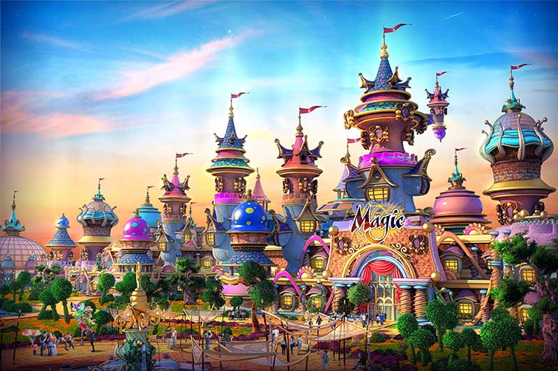 IDEATTACK Evergrance Fairytale theme park Kids Mansion