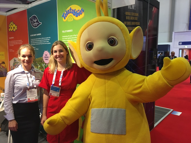 dhx brands at euro attractions show eas tellytubby