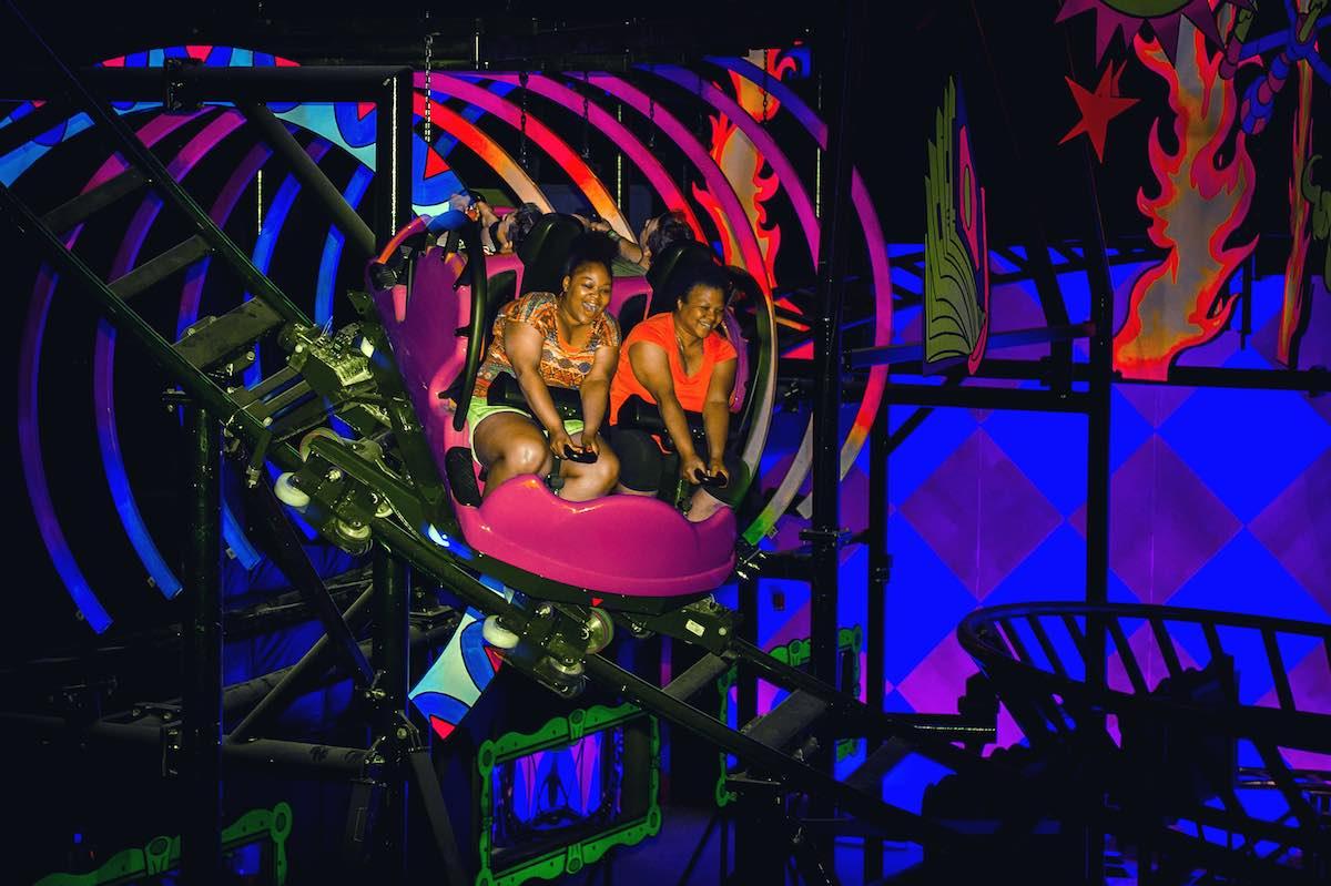 hersheypark laff trakk coaster design by raven sun creative