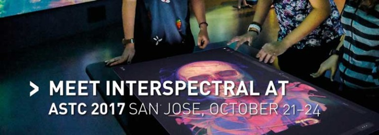 interpectral exhibit at association of science-technology centers ASTC 2017