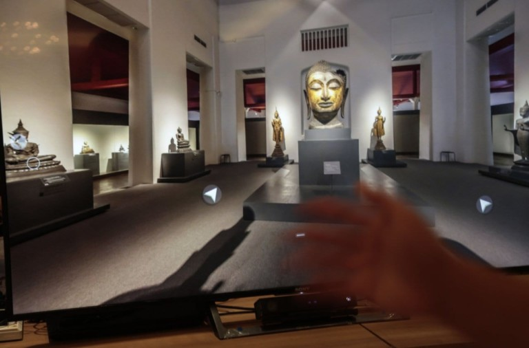 Thailand's Culture Ministry launches six 'smart museum' projects at National Museum of Bangkok smart museum