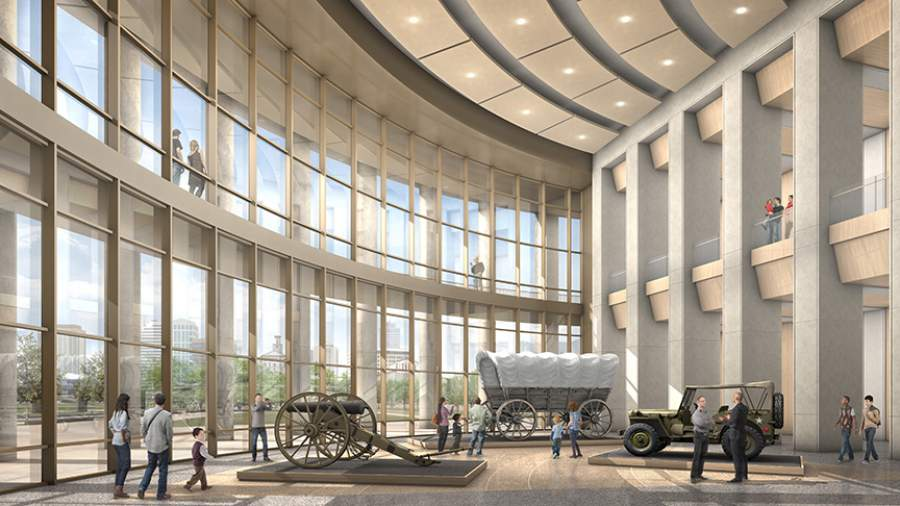 New Tennessee State Museum Project attracts $25 million in private donations