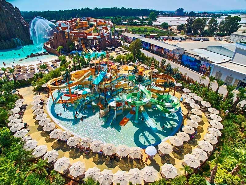 WWA award for Polin waterparks and The Land of Legends, Antalya, Turkey