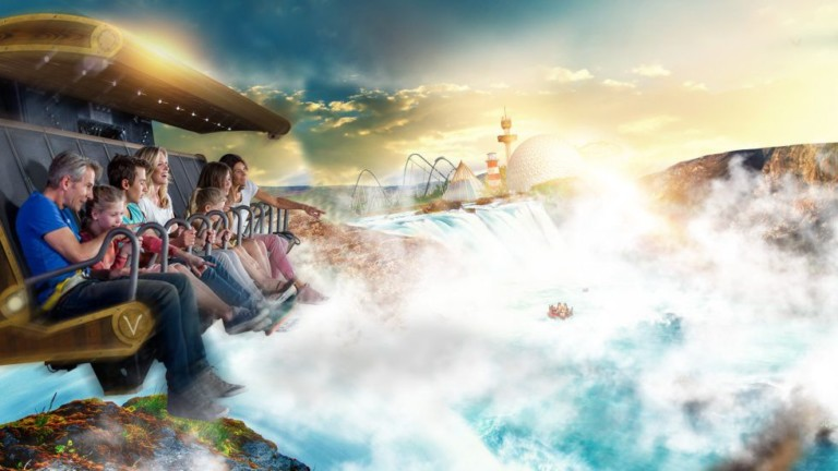 The Voletarium wows industry high-flyers during Europa-Park tour