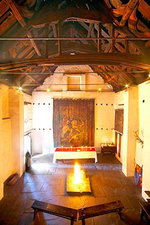 old hall interior tatton park